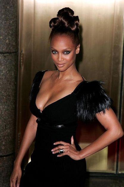 Top model Tyra Banks